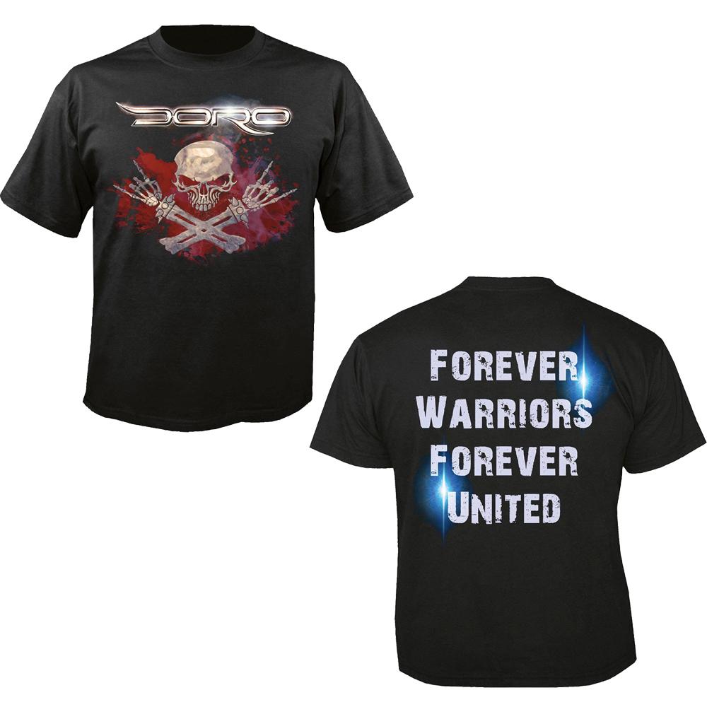 Bloodskull T-shirt Doro Shirts & Hemden