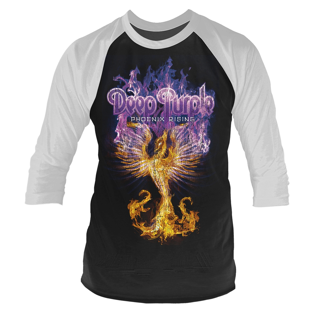 Deep Purple - Phoenix Rising (Baseball Shirt)