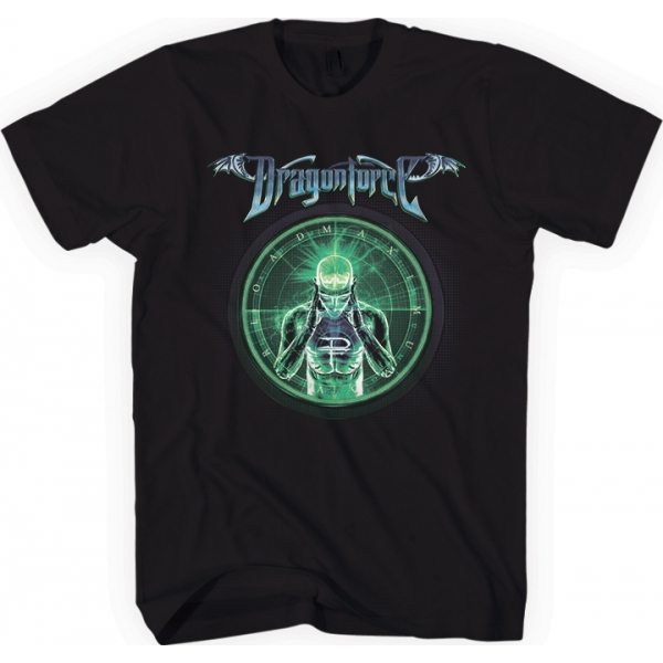 Dragonforce - Green Man (Black)