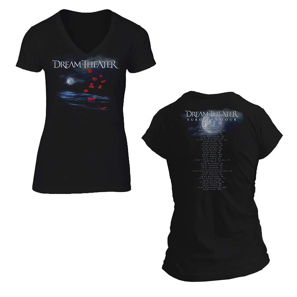 Dream Theater - Rose Petals Moon (Back Print) (Ladies)