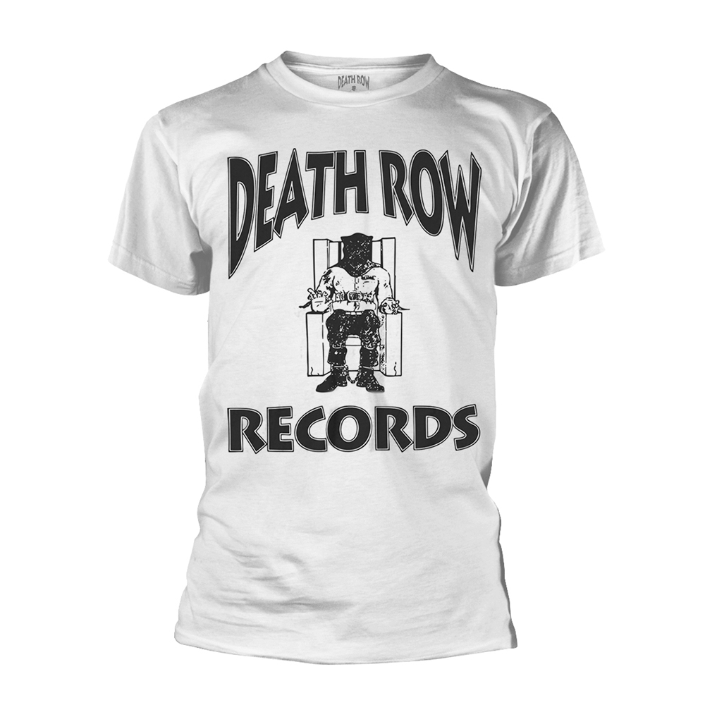 Death Row Records - Logo (White)