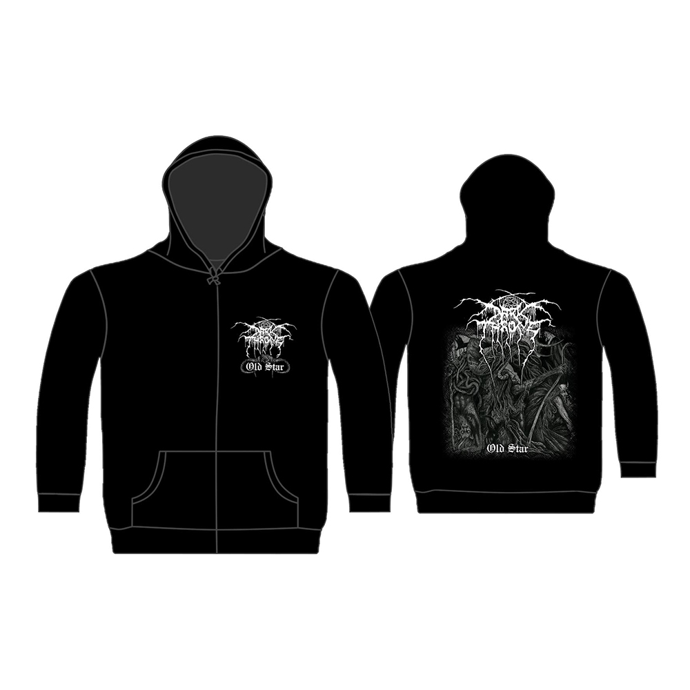 Darkthrone - Old Star (Zip Hoodie)