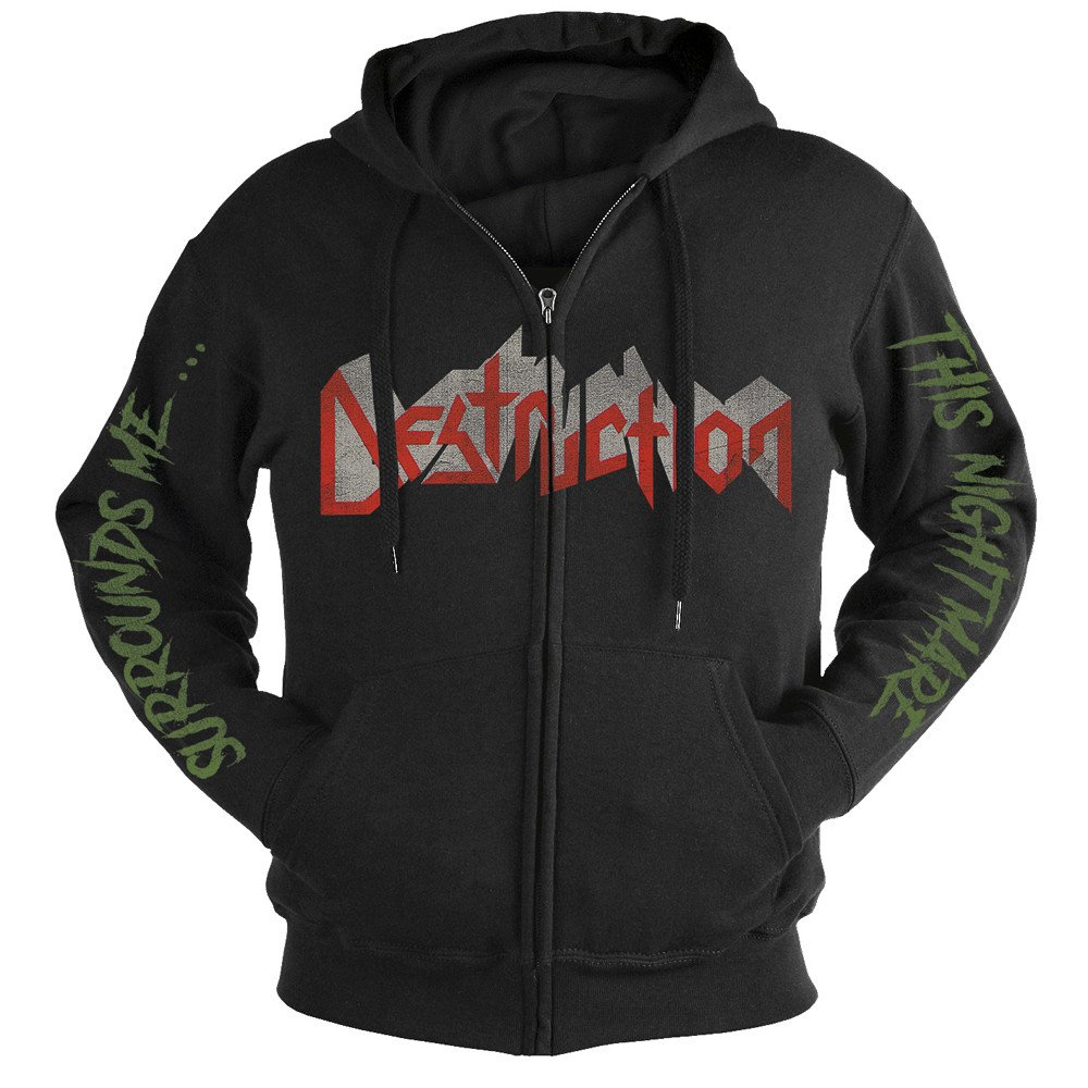 Destruction - Release From Agony 30 Years (Zip Hoodie)