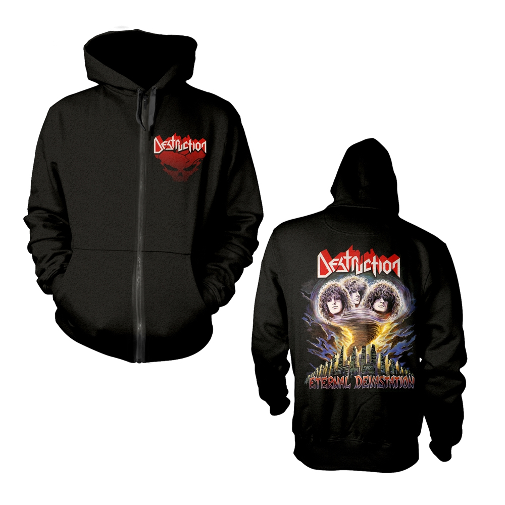 Destruction - Eternal Devastation (Zip Hoodie)