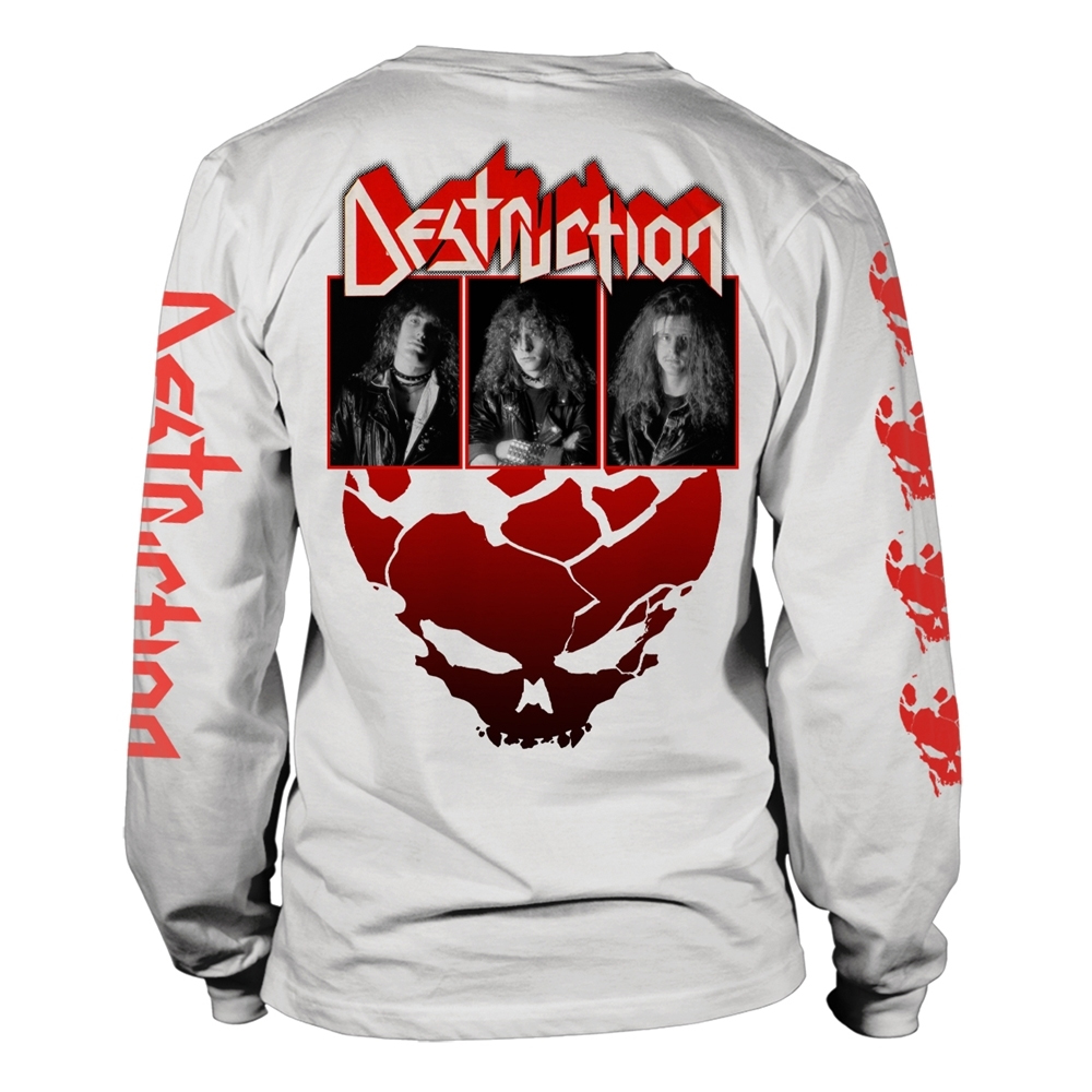 Destruction - Eternal Devastation (White Longsleeve)
