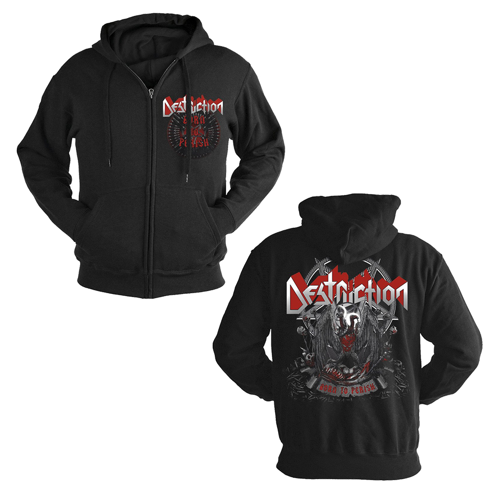 Destruction - Born To Perish (Zip Hoodie)