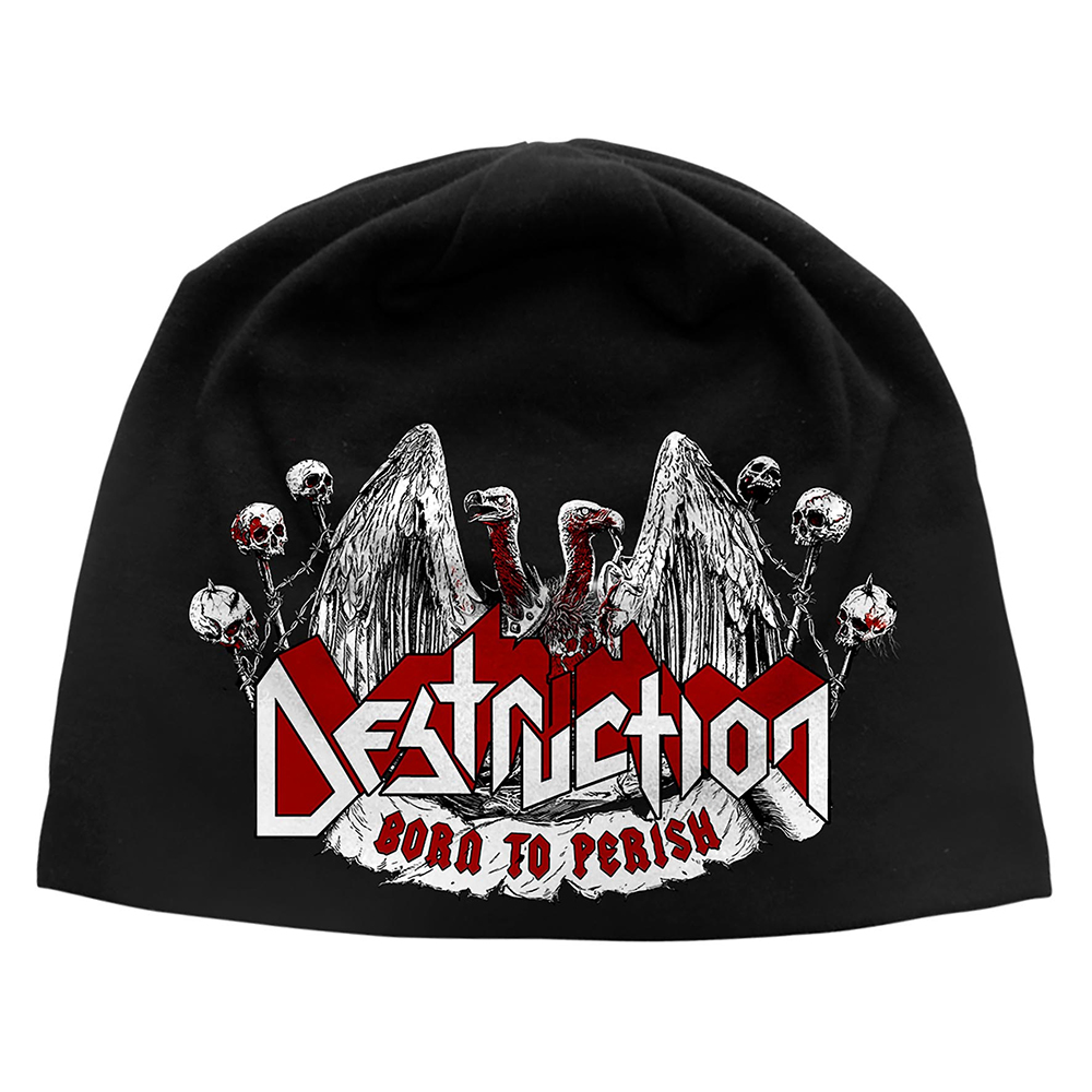 Destruction - Born To Perish (Discharge Beanie Hat)