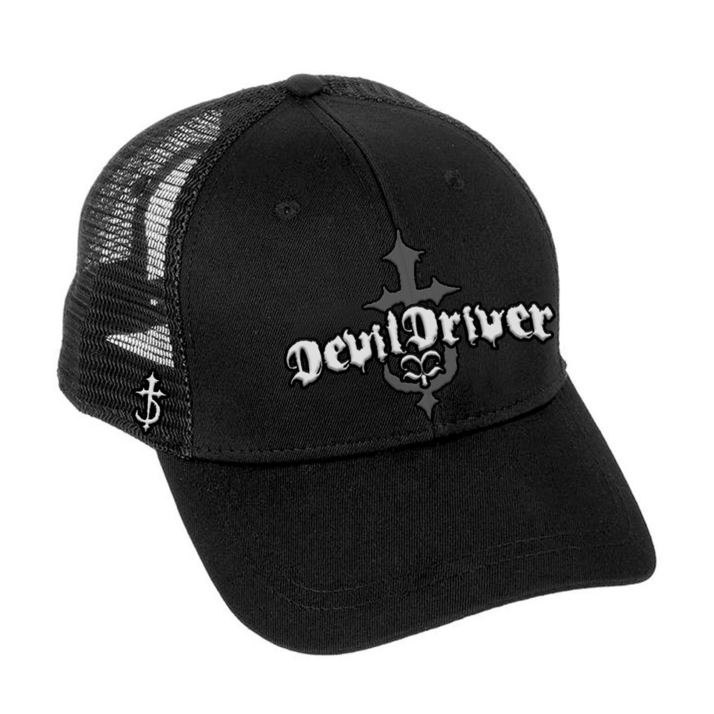 Devil Driver - Logo Black Trucker Cap