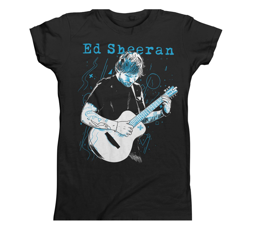 Ed Sheeran - Guitar Lines (Black)
