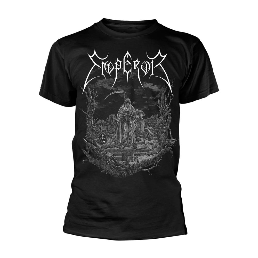 Emperor /'Luciferian/' Black Zip Up Hoodie NEW /& OFFICIAL!