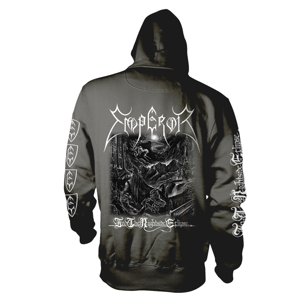 Emperor - In The Nightside Eclipse  (Black And White) (Hoodie)