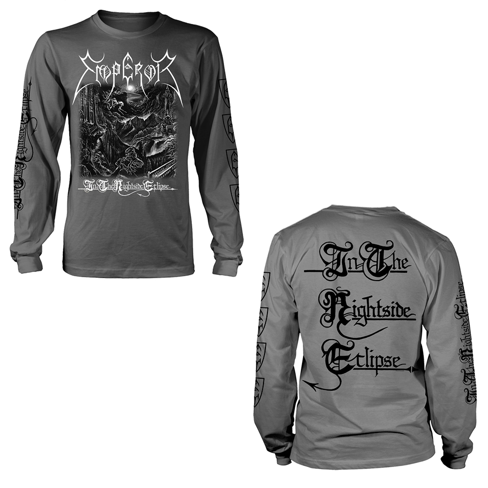 Emperor - In The Nightside Eclipse  (Black And White Longsleeve)