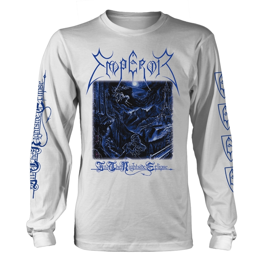 Emperor - In The Nightside Eclipse  (White Longsleeve)