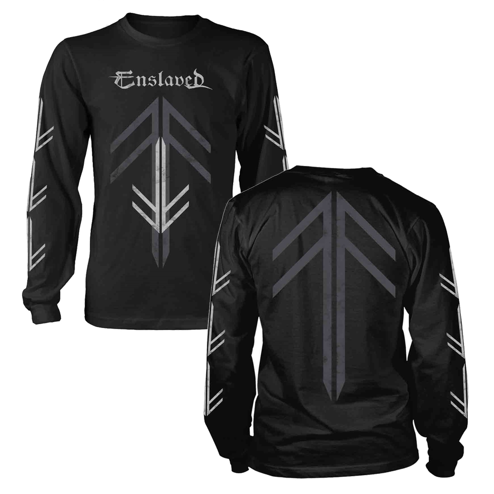 Enslaved - Rune Cross (Longsleeve)