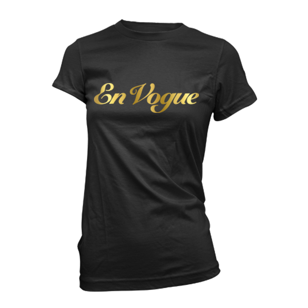 En Vogue - Gold Foil Logo (Black)