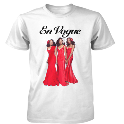 En Vogue - Red Dresses (White)