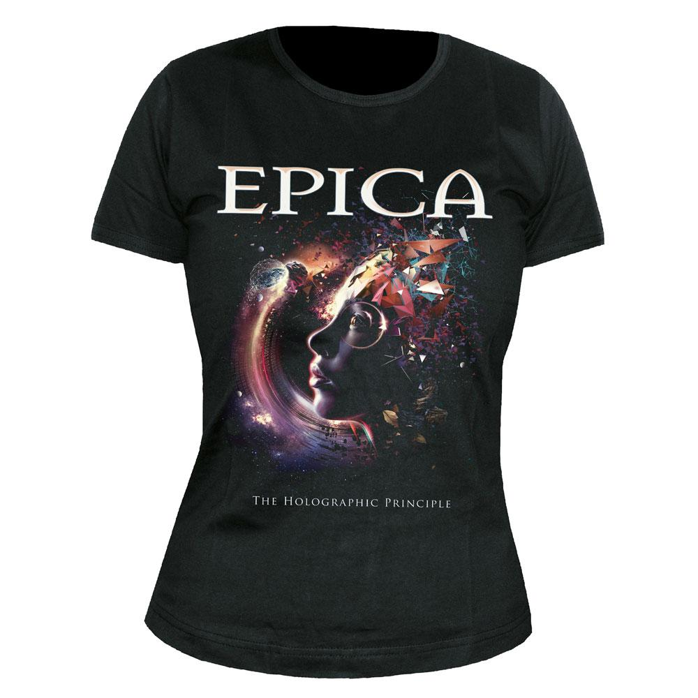Epica - The Holographic Principle (Black) (Womens)