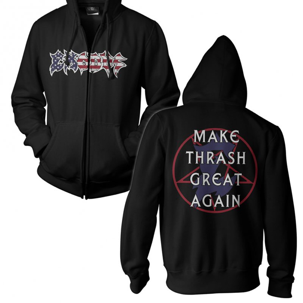 Exodus - Make Thrash Great Again  (Zip Hoodie)