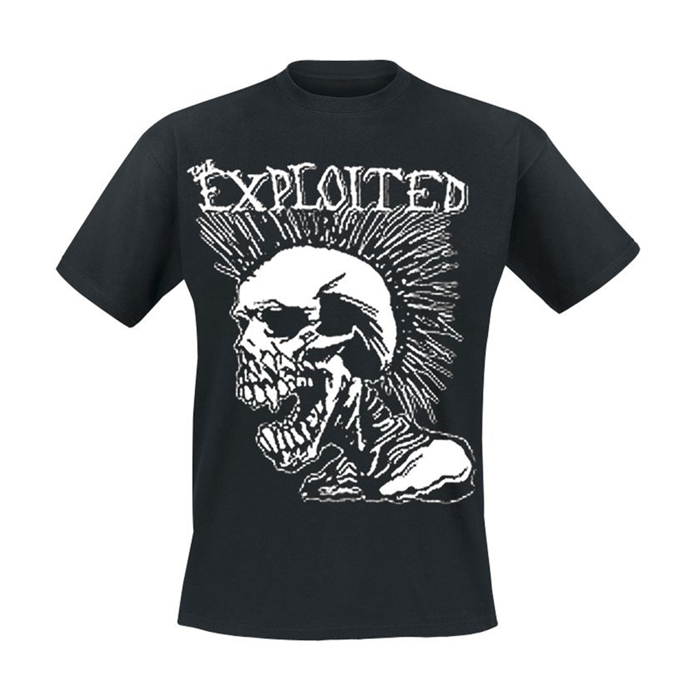 The Exploited - Mohican Skull