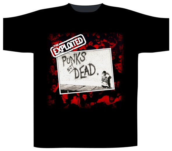 The Exploited - Punks Not Dead (Black) #1