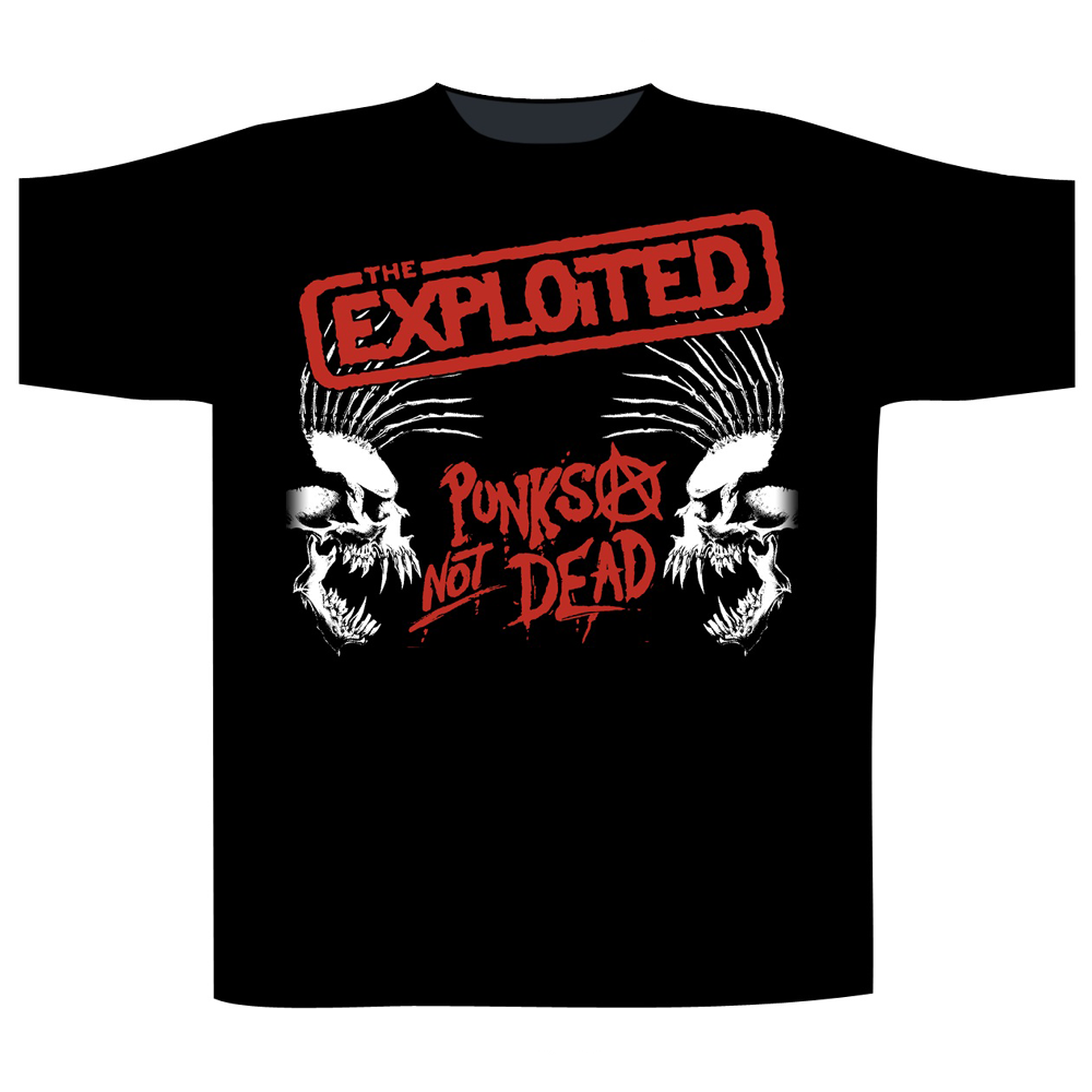 The Exploited - Punks Not Dead/Skulls