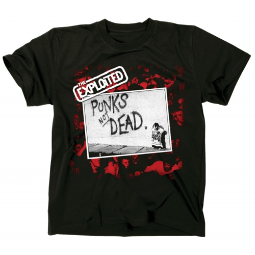 The Exploited - Punks Not Dead (Black)