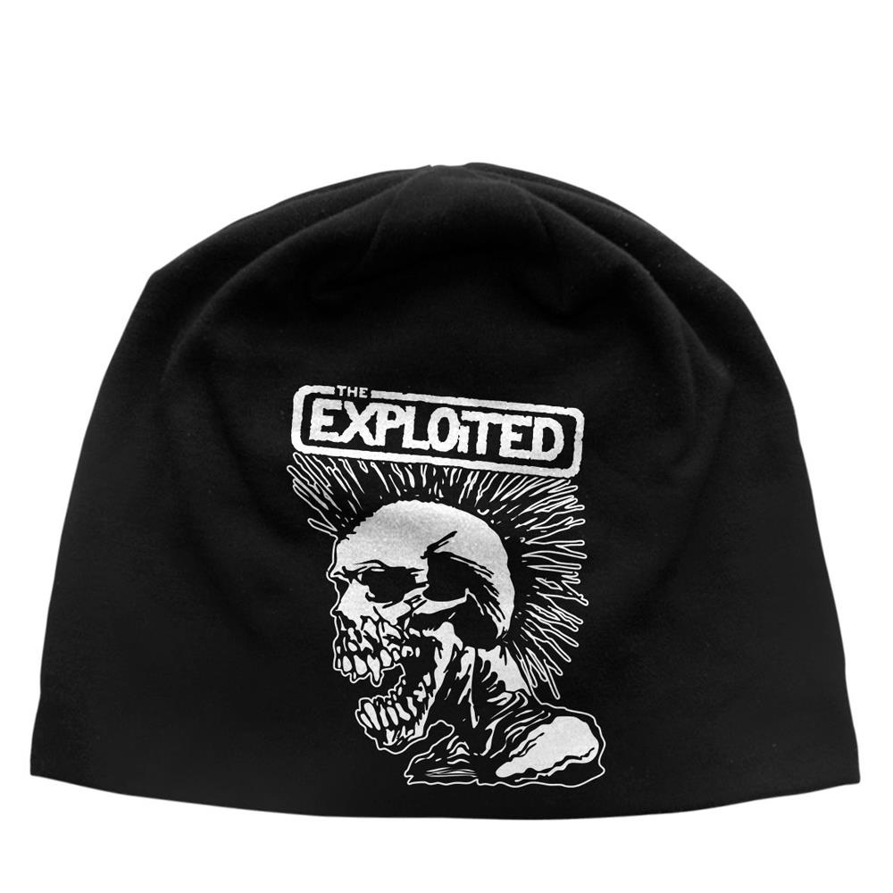 The Exploited - Mohican Skull (Discharge Beanie Hat)