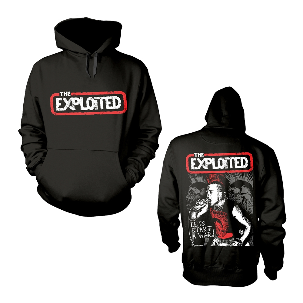 The Exploited - Let's Start A War (Hoodie)