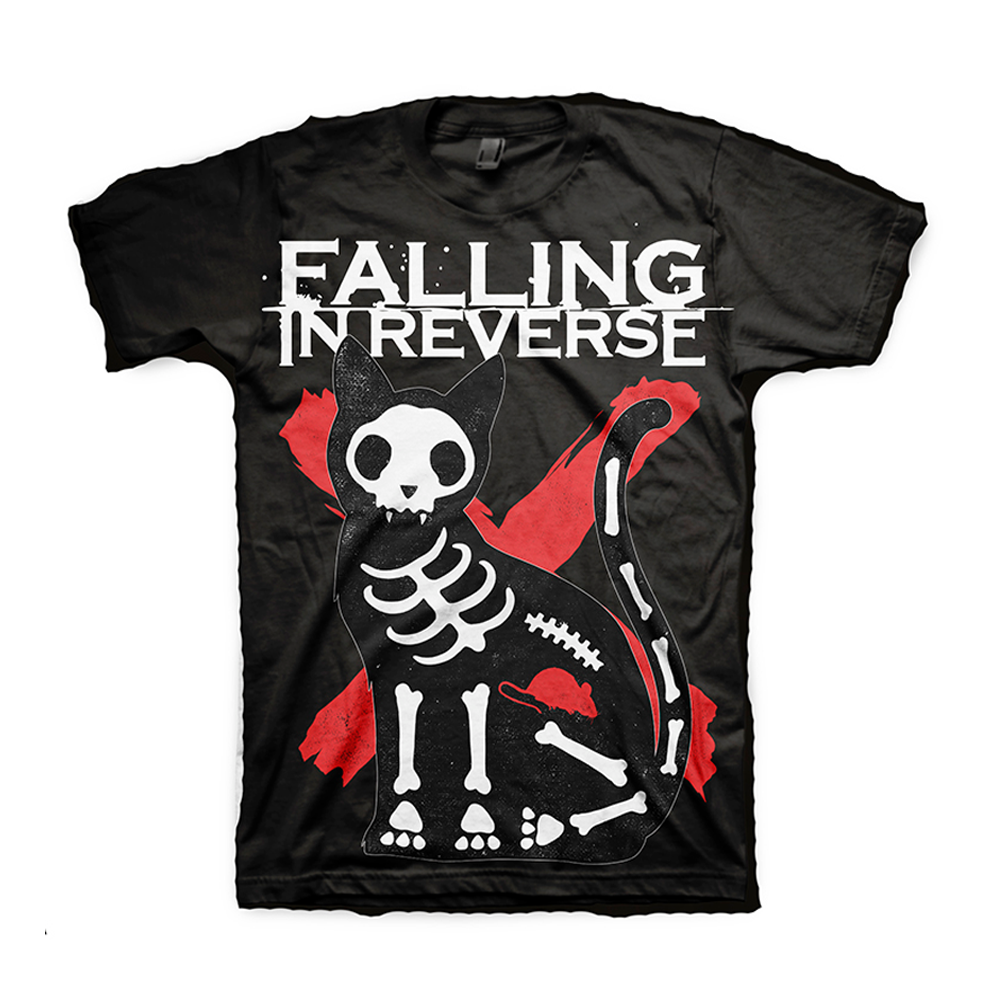 Falling In Reverse - X-Ray Cat (Black)