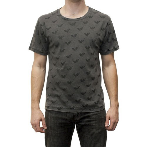 Feed Me - Grey and Black All Over Print Shirt