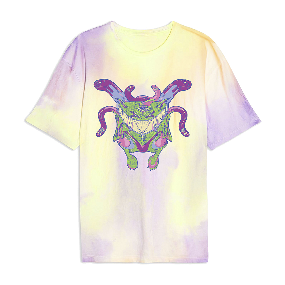 Feed Me - Custom Tie Die T-Shirt