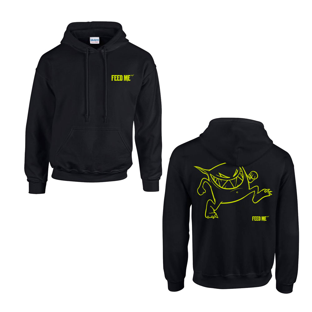 Feed Me - Active Neon Hoodie