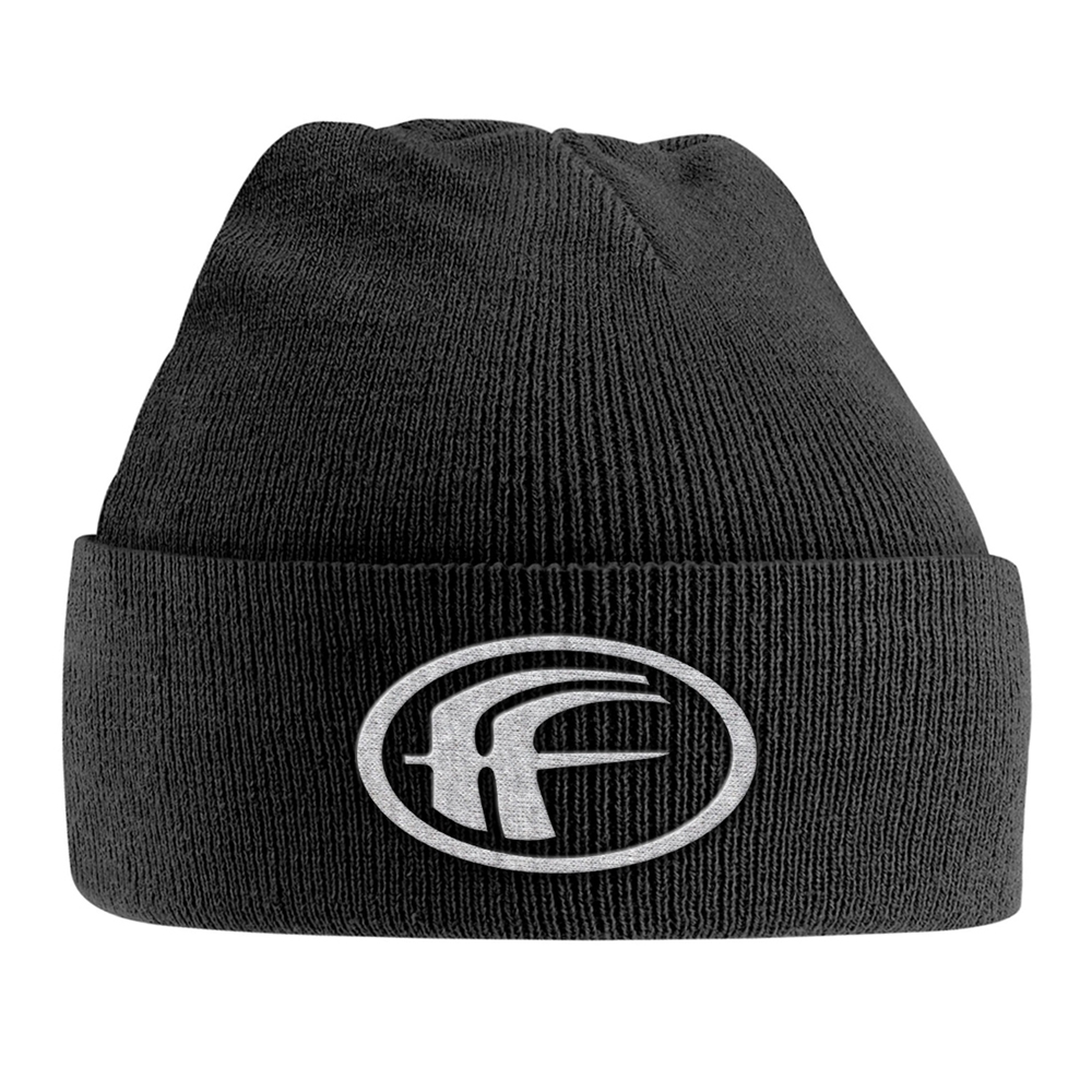Fear Factory - White Logo (Embroidered Ski Hat)