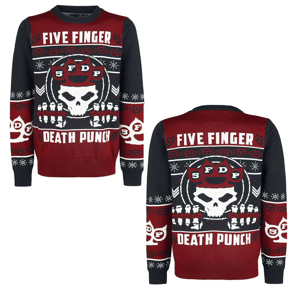 Five Finger Death Punch - Christmas Jumper