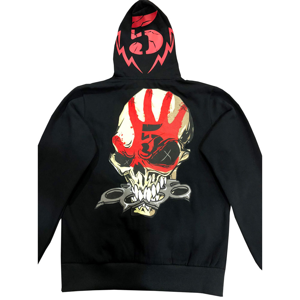 Five Finger Death Punch - Zombie Kills Custom Hoodie