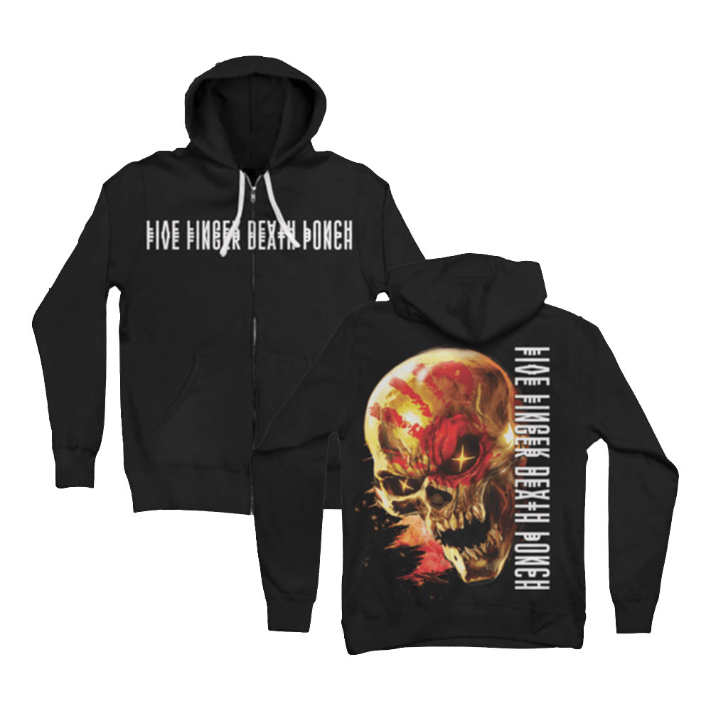 Five Finger Death Punch - Justice For None (Zip Hoodie)