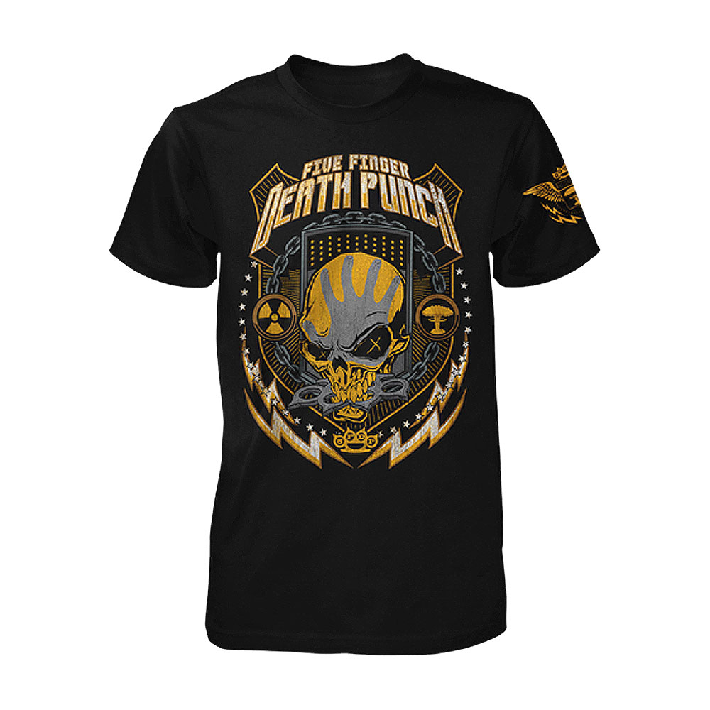 Five Finger Death Punch - Nuke Shield Spotify Exclusive tee
