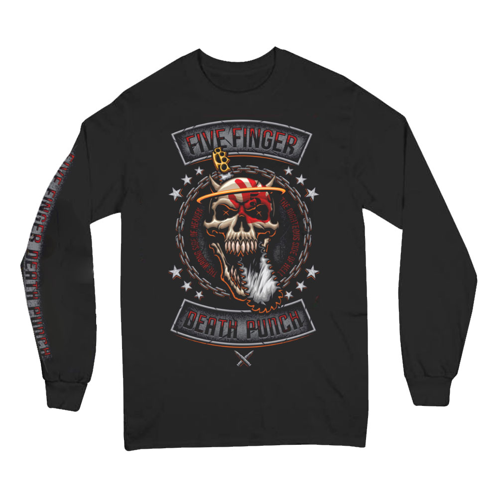 Five Finger Death Punch - Rebellion (Long Sleeved T-Shirt)