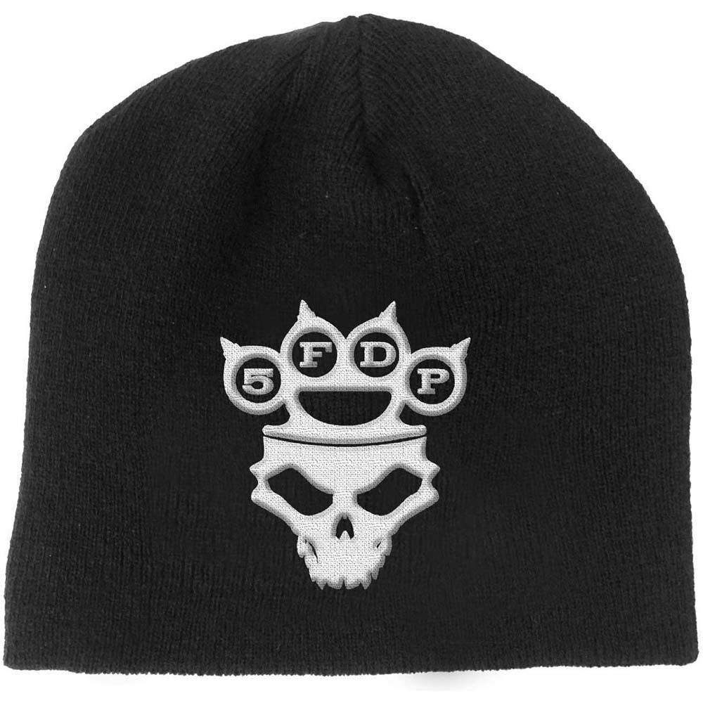 Five Finger Death Punch - Knuckle-Duster Logo & Skul (Beanie)