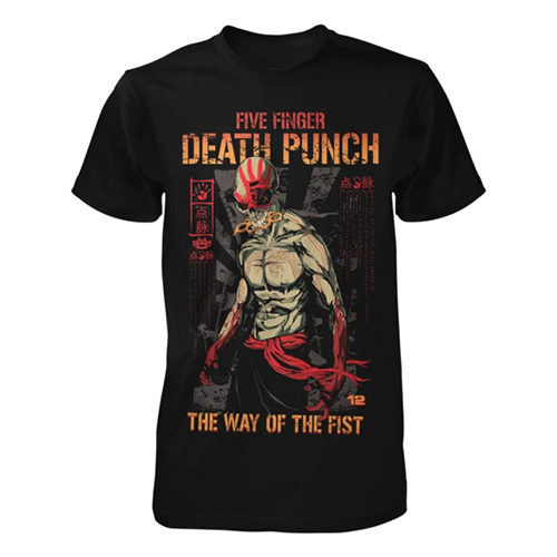 Five Finger Death Punch - Way of the Fist 12th Anniversary Tee