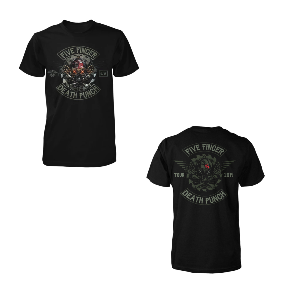 Five Finger Death Punch - Fury Road 2019 Tour Tee