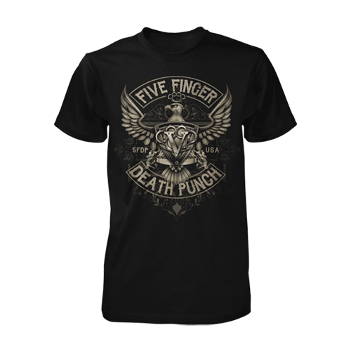Five Finger Death Punch - 5FDP USA Tee