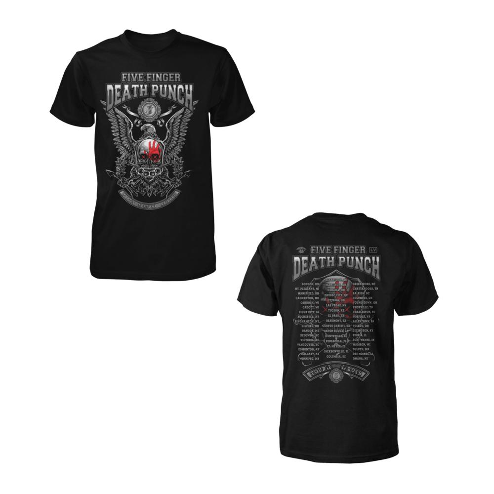 Five Finger Death Punch - Fortis Fortuna Adiuvat 2020 Tour Tee