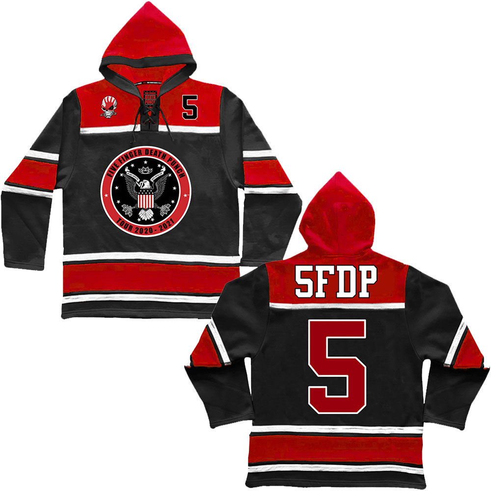 Five Finger Death Punch - Seal Hooded Jersey