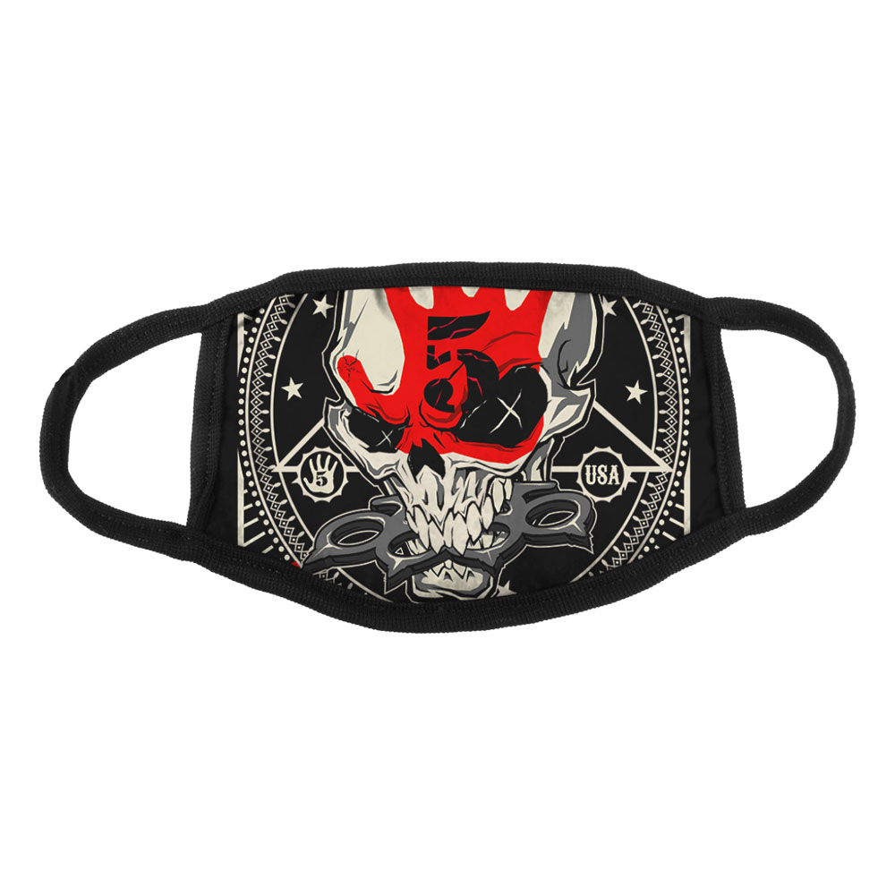 Five Finger Death Punch - Star Skull face mask