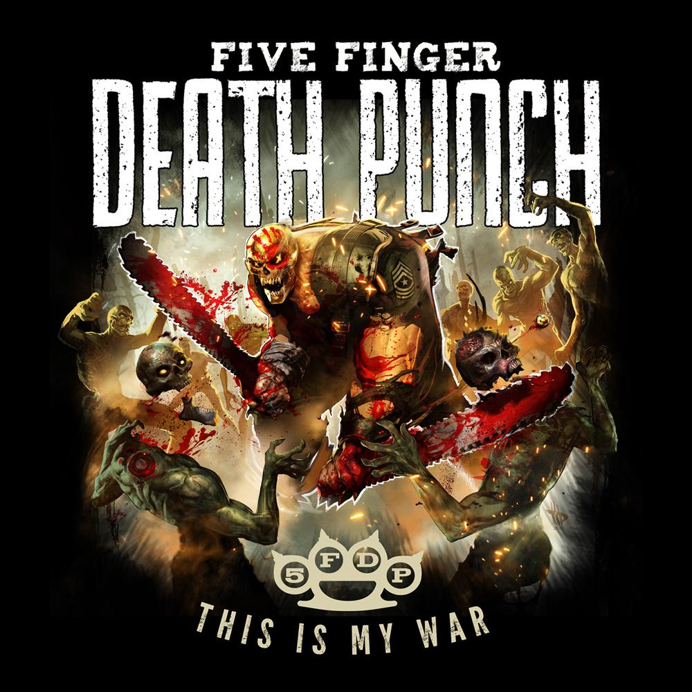 Five Finger Death Punch - This Is My War (Black)