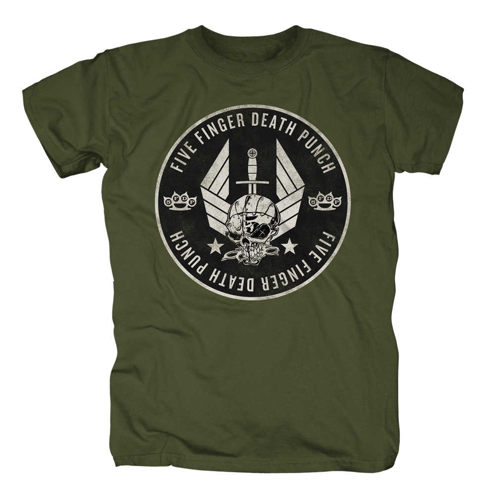 Five Finger Death Punch - Munitions (Green)