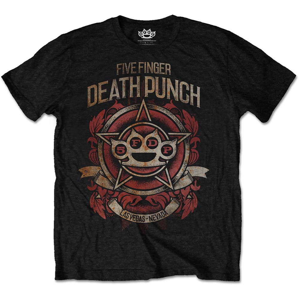 Five Finger Death Punch - Badge Of Honour (Black)