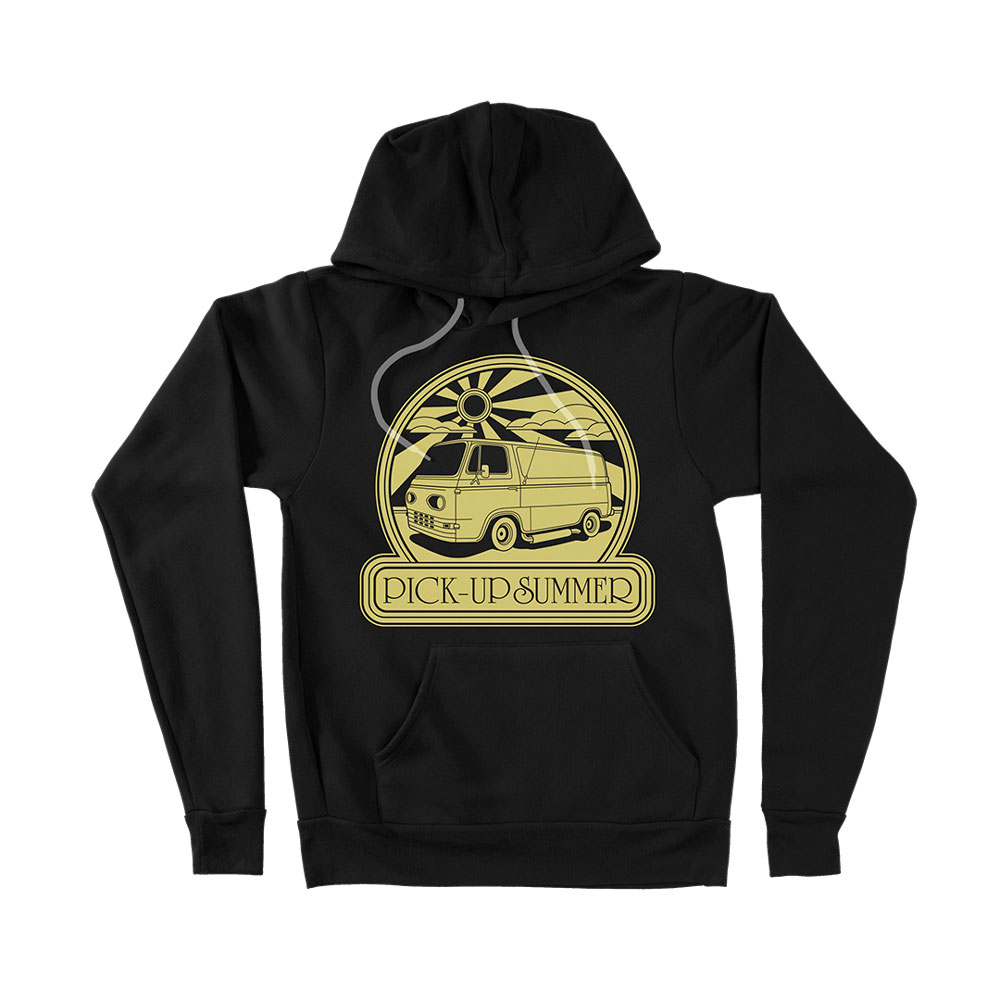 Fu Manchu - Pick-Up Summer Black Hoodie