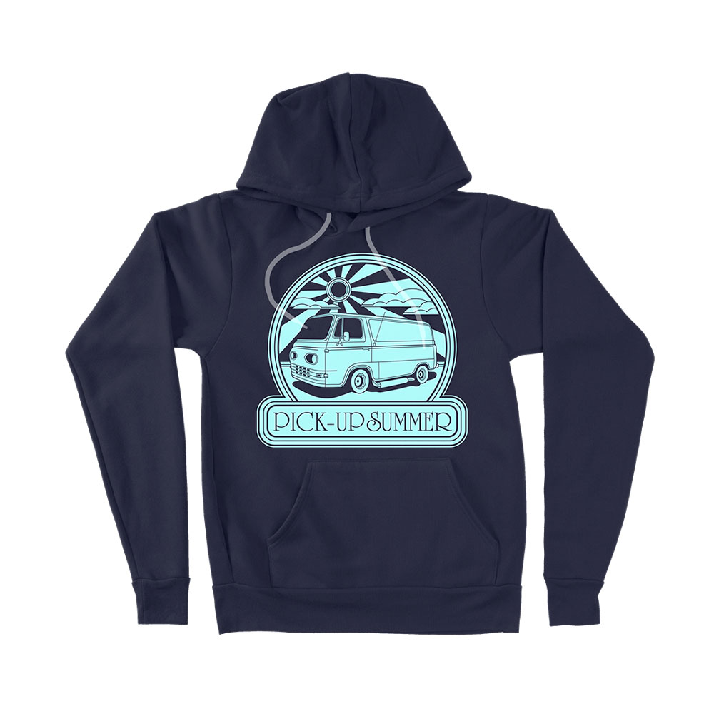 Fu Manchu - Pick-Up Summer Navy Hoodie